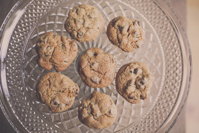 Whole Grain Soft and Chewy Chocolate Chip Cookie