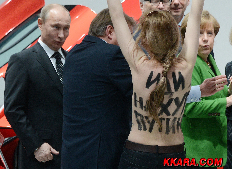"""Правоохранители задержали двух активисток Femen за """"голый протест"""" под Радой - Цензор.НЕТ 655"""