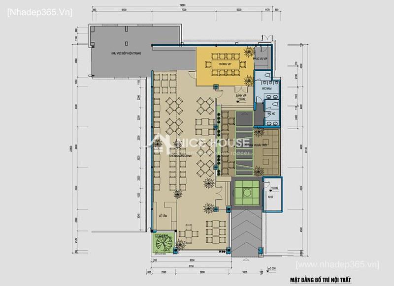 Nội thất nhà hàng Cây Xoài - HN_5