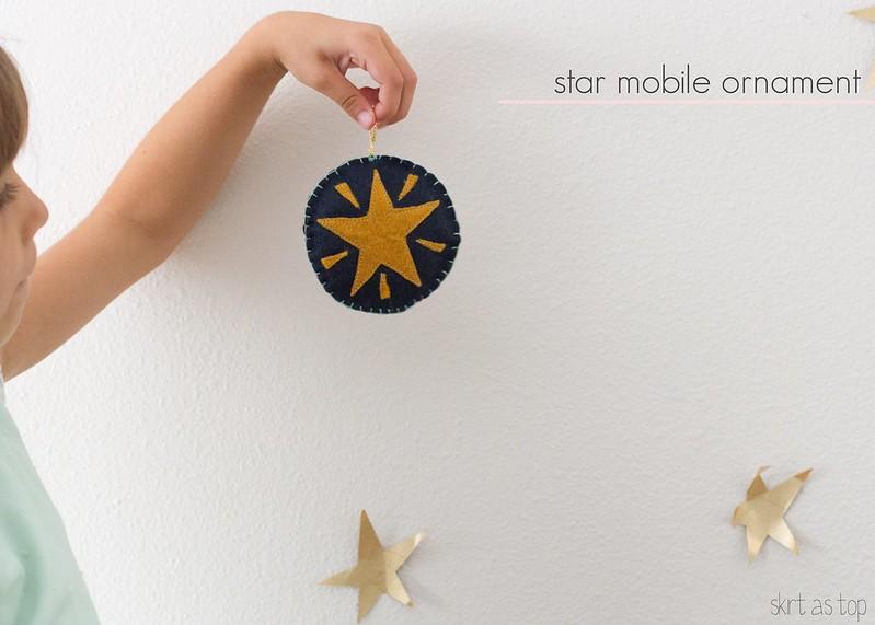 star mobile ornament