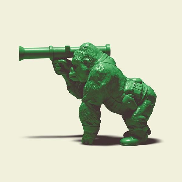動物化身為綠色小兵!「熊貓之穴」新作『Green Green Army』!
