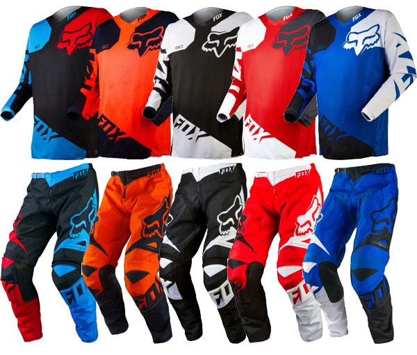 Fox 2015 180 Race Motocross Gear Combo