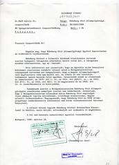 124. A Külügyminisztérium Konzuli Főosztálya vezetőjének levele a Belügyminisztérium Igazgatásrendészeti csoportfőnökének