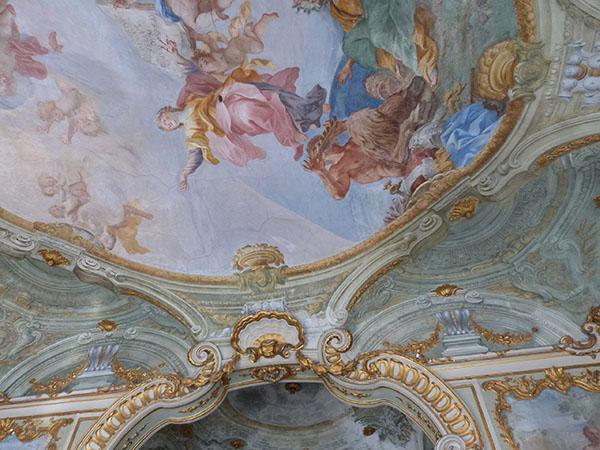 fresque plafond