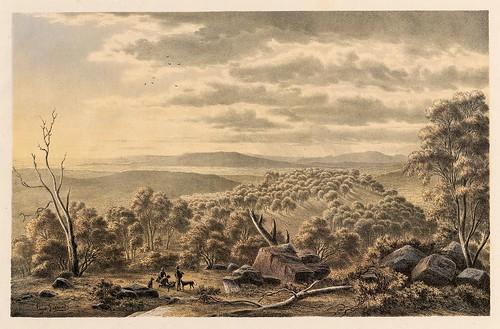 004-Australian landscapes -1860- Eugen von Guerard- Universität Tübingen