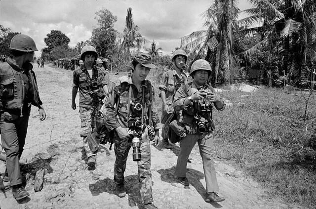 Vietnam War 1972 - Photo by A. Abbas - Route 13