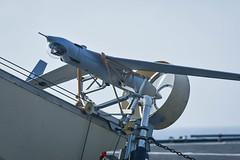 Scan Eagle on board ESPS Galicia