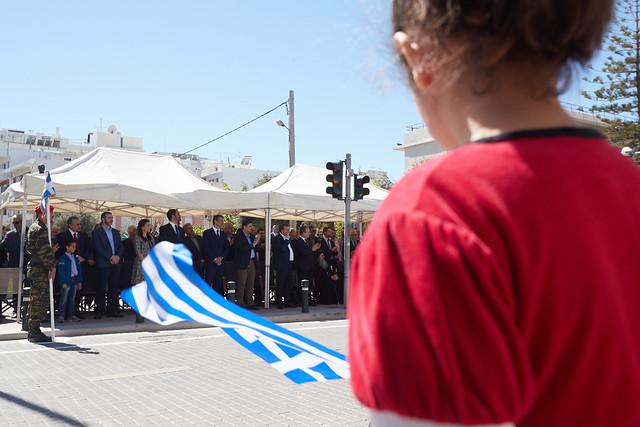 Στην παρέλαση της 25ης Μαρτίου στο Ρέθυμνο, Canon EOS-1D X MARK II, Canon EF 16-35mm f/2.8L II USM