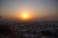 Guadalajara y un amanecer