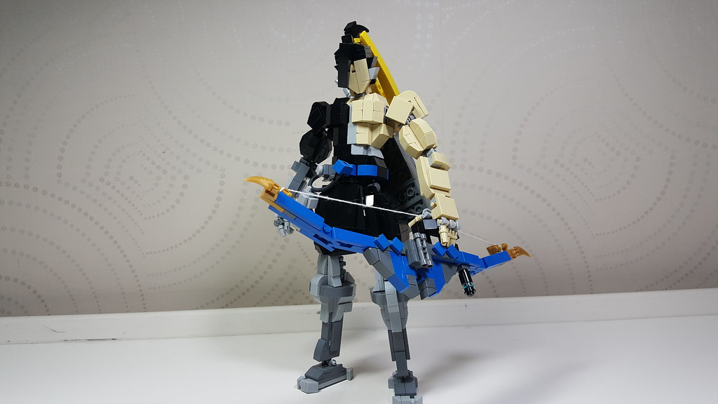 Overwatch hanzo (custom built Lego model)
