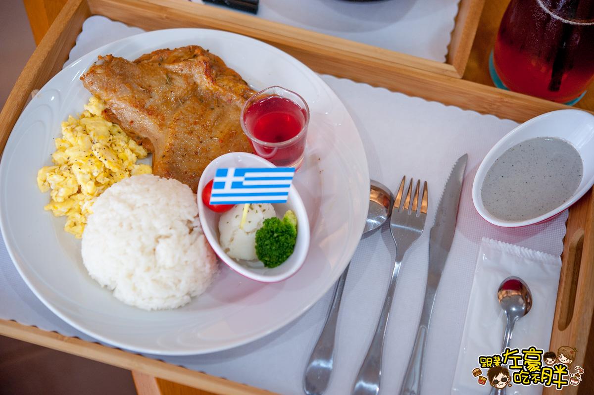 墾丁南方驛站小希臘-餐點+房型-43