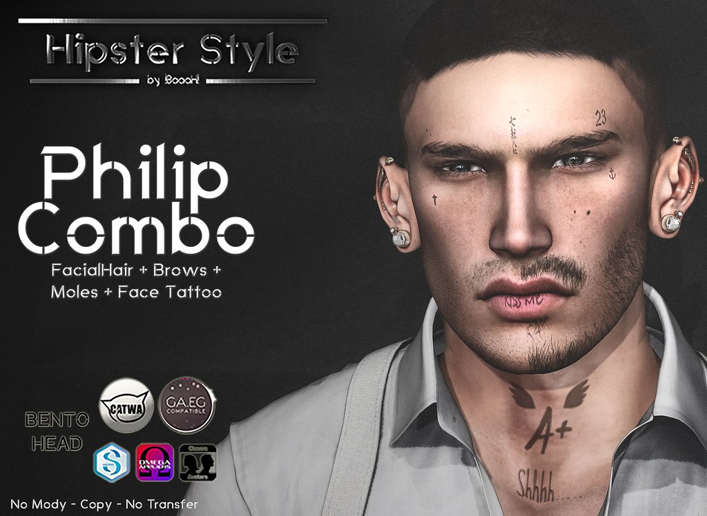 [Hipster Style] Philip COMBO - SecondLifeHub.com