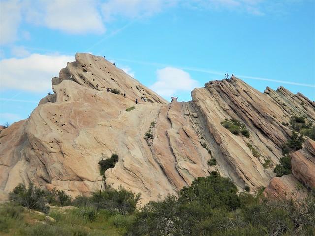 The famous Vasquez Rocks, Nikon COOLPIX S9500