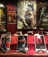 Hollywood display at NRA National Firearms Museum Fairfax VA