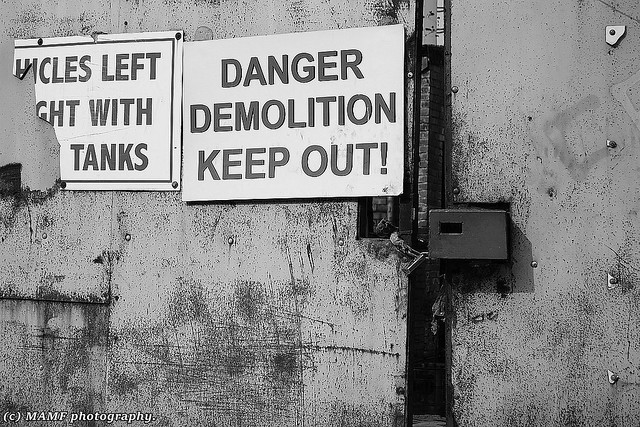 Keep out!!!