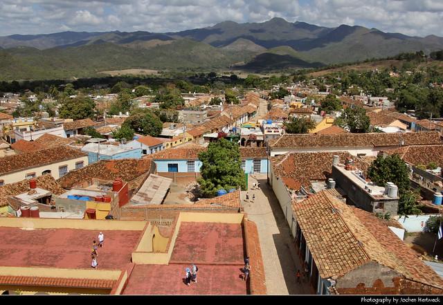 View from Iglesia y Convento de San Francisco, Trinidad, Cuba