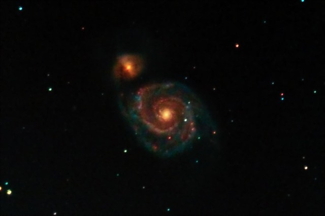 M51 - always a favourite of mine!