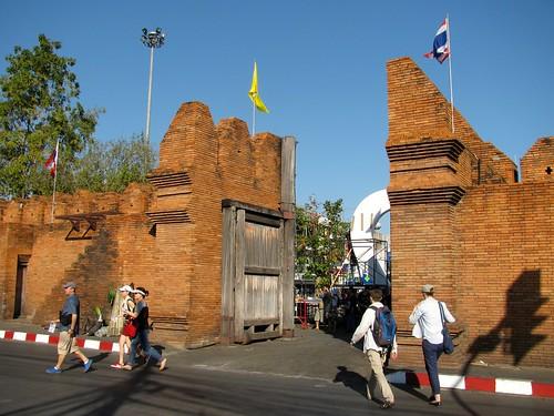Entrada a la ciudad antigua de Chiang Mai