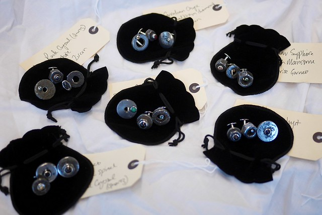 Cufflink Commission - Susannah Hall Tailors - 1