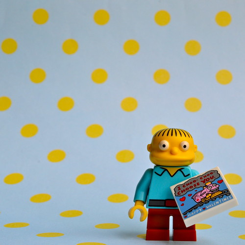 The Simpsons Minifigures: Ralph