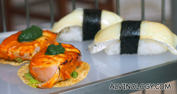 These look like sushis, but they are not. Taste absolutely amazing!