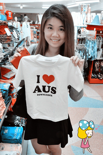 One Day in Manly: I Love Aus T-Shirt