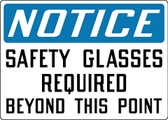 Notice_Safety_Glasses_Required_Beyond_This_Point_NP37_OSHA