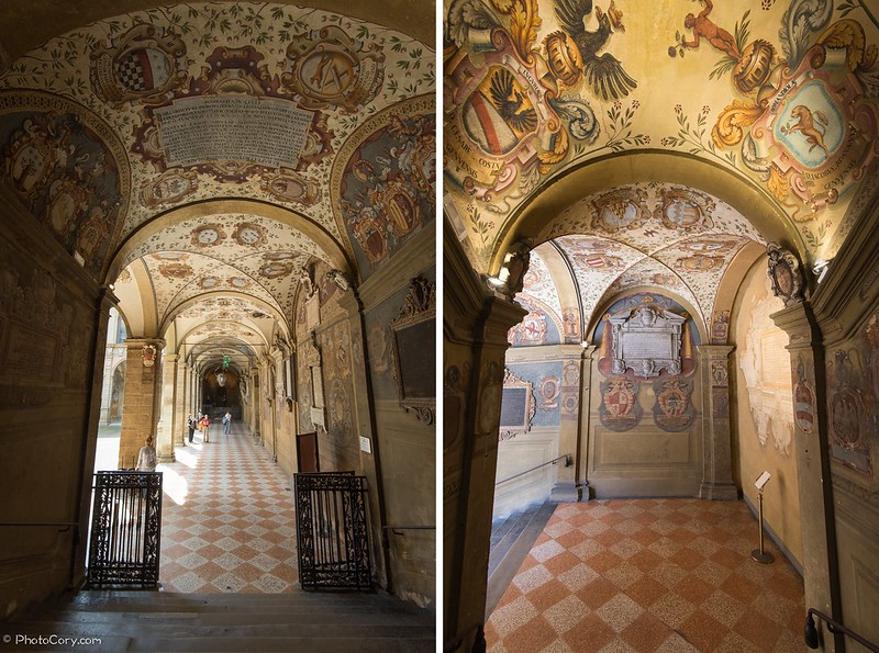 Palazzo dell'Archiginnasio (Library) in Bologna