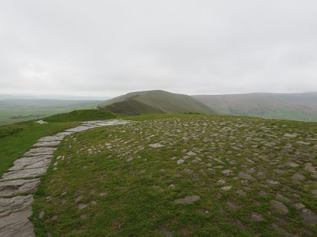 View along Rushup Edge from Mam Tor, Peak District