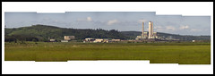 Centralia Electric Generating Station Steam Plant May 2014 Panorama