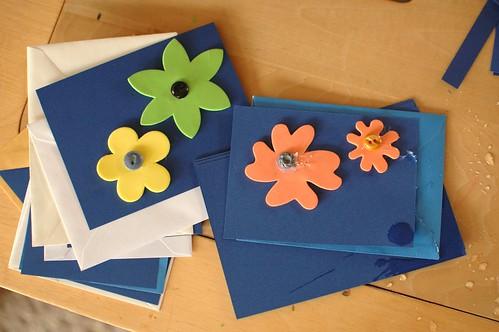 Easy Flower Cards