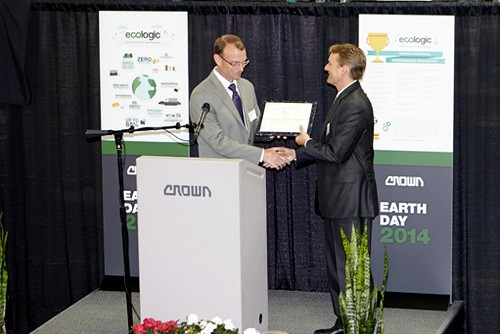 Ohio EPA Director Craig Butler Awards E3 Award to Crown President Jim Dicke III