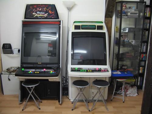 Bornes d'arcade - family portrait