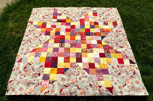 Patchwork Star Baby Quilt