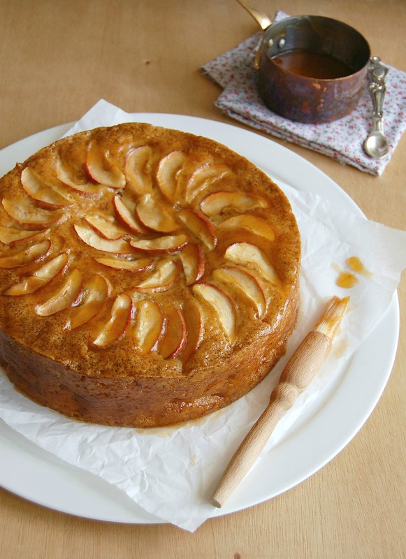 French apple cake / Bolo francês de maçã