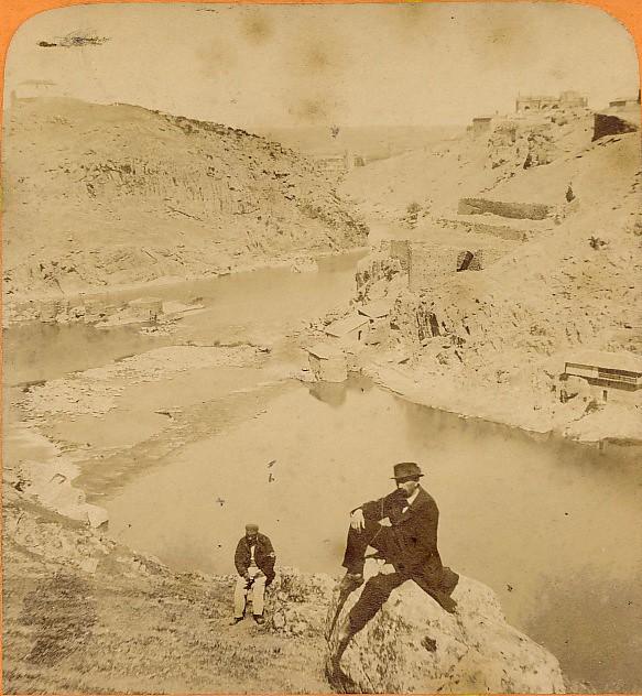 Torre de Alfarach en 1868 fotografiada por Jean Andrieu