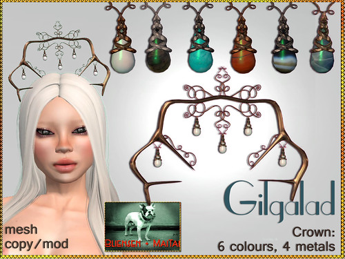 Bliensen + MaiTai - Gilgalad - Crown- 6 colours Kopie