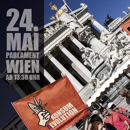 Vienna Austria - March Against Monsanto - on Saturday 24 May 2014
