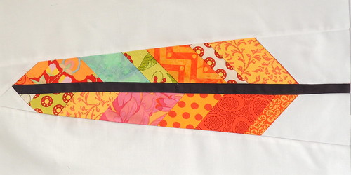 080 Feather block for a Feather Bed Quilt