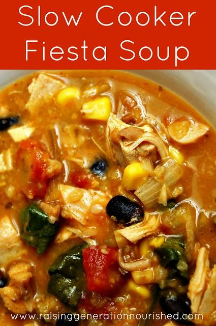 Slow Cooker Fiesta Soup
