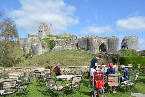 National Trust Tea Room at Corfe Castle