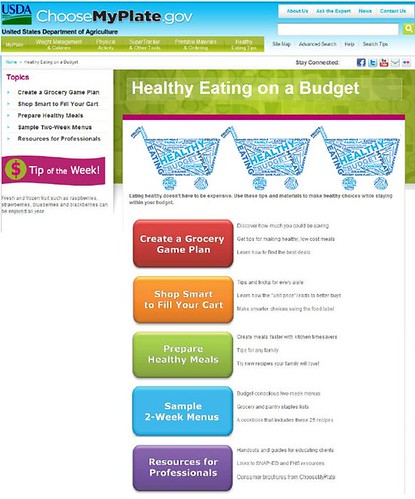 Healthy Eating on a Budget Landing Page