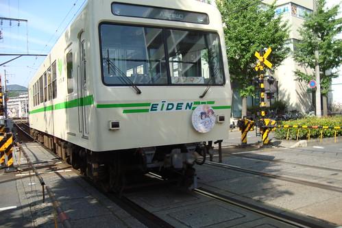 2014/05 叡山電車 ご注文はうさぎですか? ヘッドマーク車両 #06