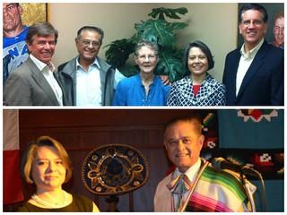 Entrega del reconocimiento OHTLI a Diego Alcaráz en PENTICTON, Columbia Británica