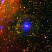 Pulsar encased in supernova bubble by europeanspaceagency