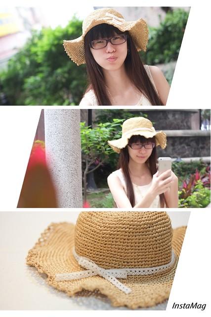 極簡夏日草帽