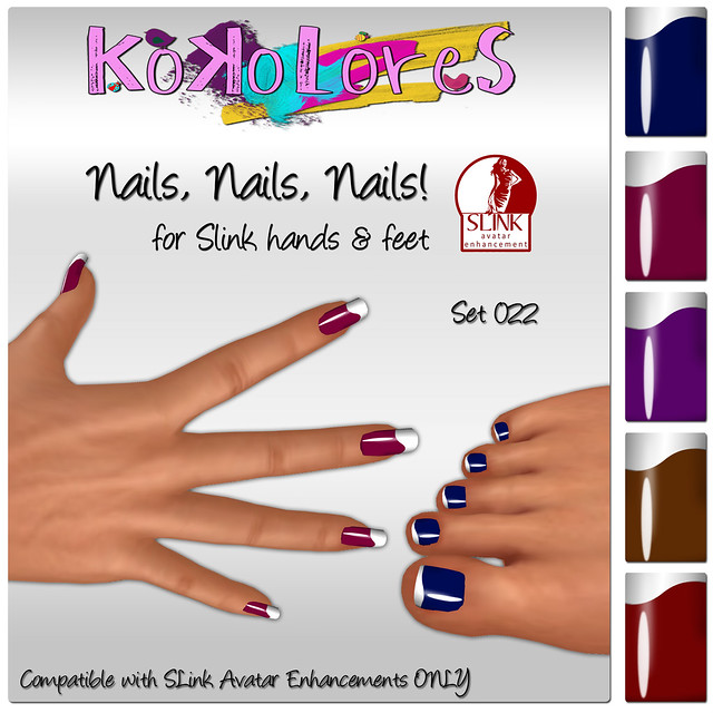 [KoKoLoReS] Nails, Nails, Nails! Set 022