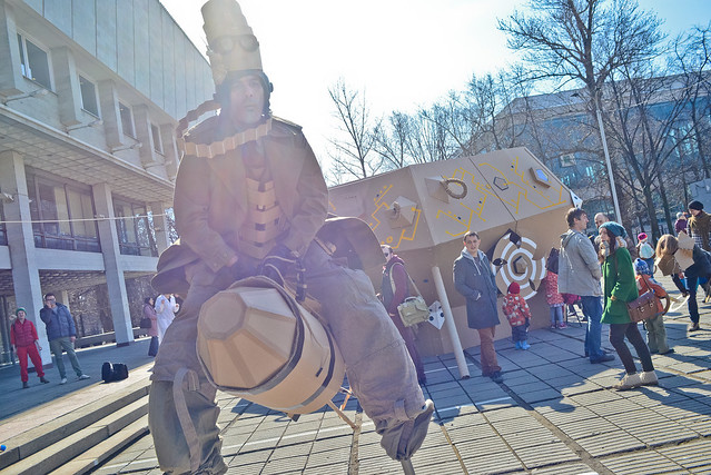 #картония #circus #cardboardia #картон #уличныйперформанс #уличныйтеатр