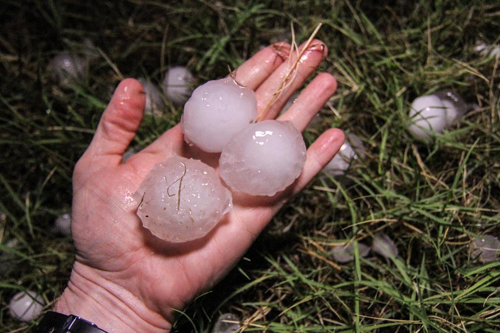Large Hail Stones