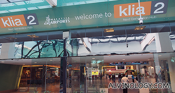 Welcome to KLIA2